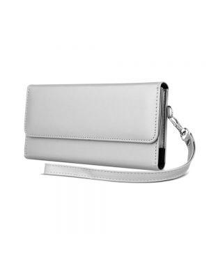 Univerzalna ženska torbica za mobilni telefon 6,0' 170x80mm silver