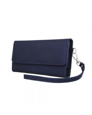 Univerzalna ženska torbica za mobilni telefon 6,0' 170x80mm modra