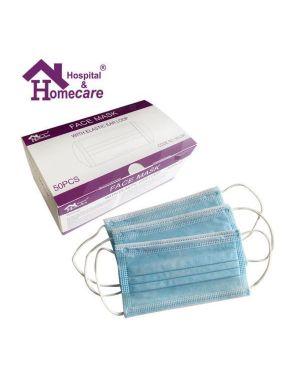 Zaščitna maska 50/1 - 3 slojne zaščitne maske - higienske