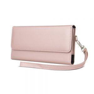 Univerzalna ženska torbica za mobilni telefon 6,0' 170x80mm rose gold