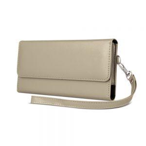 Univerzalna ženska torbica za mobilni telefon 6,0' 170x80mm zlata