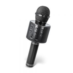 Karaoke mikrofon z vgrajenim bluetooth zvočnikom BMS-300 - črn