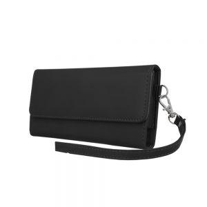 Univerzalna ženska torbica za mobilni telefon 6,0' 170x80mm črna