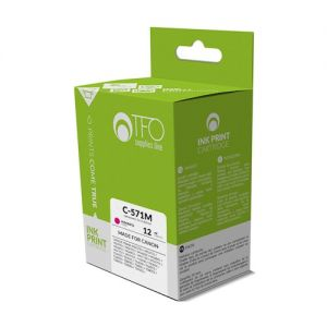 Kartuša Canon CLI571M - Ink TFO C-571M (CLI571M) 12ml - kompatibilna
