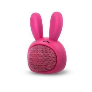 Bluetooth zvočnik roza zajček ABS-100