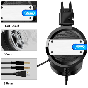 Slušalke XO GE-02 black