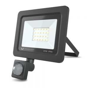 Led reflektor PROXIM II 20W, 6000K, IP66, senzor, Forever Light