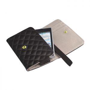Univerzalna ženska torbica za mobilni telefon XXXL Note 2 črna