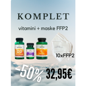 Vitamini in FFP2 maske